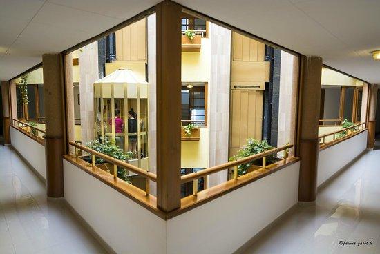 Hotel GHT Aquarium & SPA: Salida de la habitación