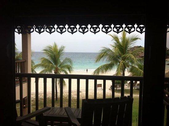 Laguna Redang Island Resort : Room 108 sea view balcony