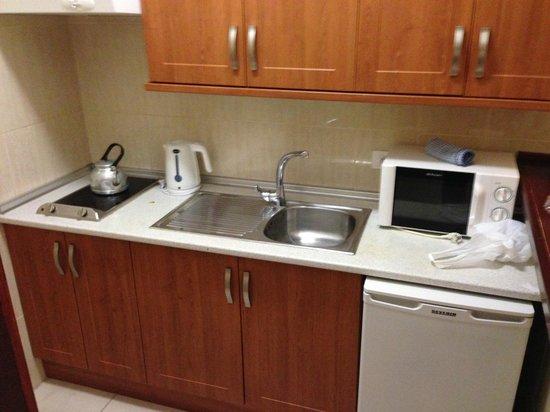 Apartamentos Caribe: Кухня