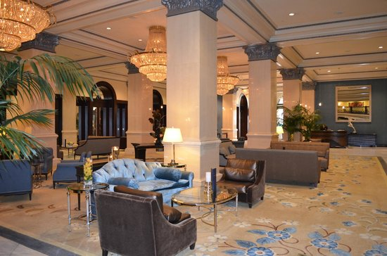 THE US GRANT, a Luxury Collection Hotel, San Diego: View of the lobby