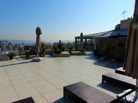 Neorion Hotel: Roof top terrace