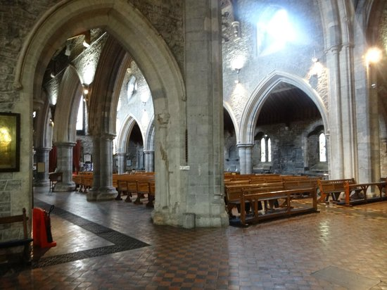 St. Canice's Cathedral & Round Tower: Inside the cathedral