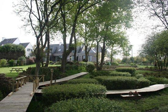 La Petite Presqu'ile : vue du jardin