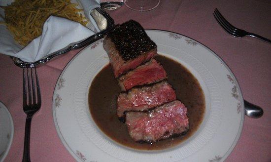 Brandywine: Steak au Poivre