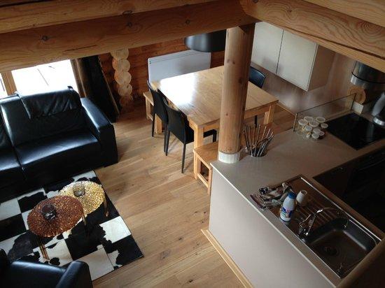 Chalet Ana : Séjour - salle à manger - espace cuisine