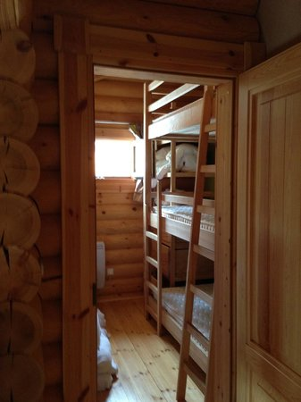Chalet Ana : Chambre enfants (3 lits superposés)