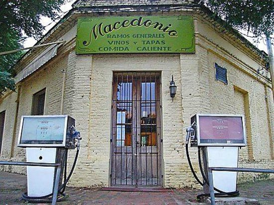 Uribelarrea, Argentina: Macedonio