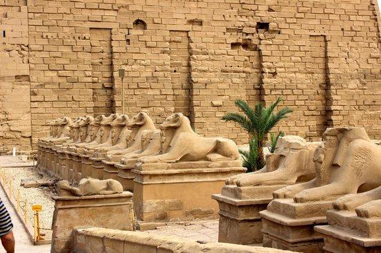 Tal der Könige: Karnak temple
