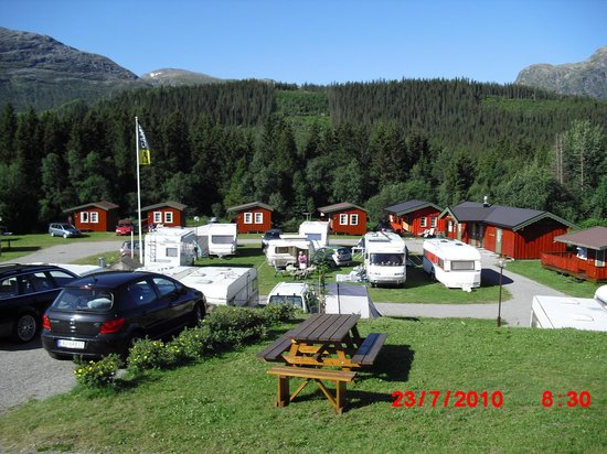 Hemsedal, Norge: elvely camping
