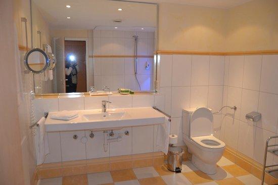 Hotel Rebenhof: Il bagno
