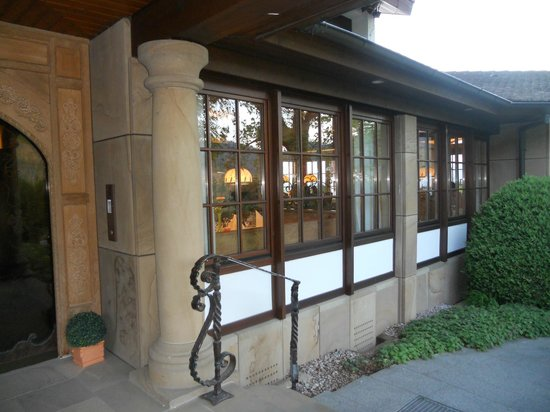 Hotel Rebenhof: L'entrata