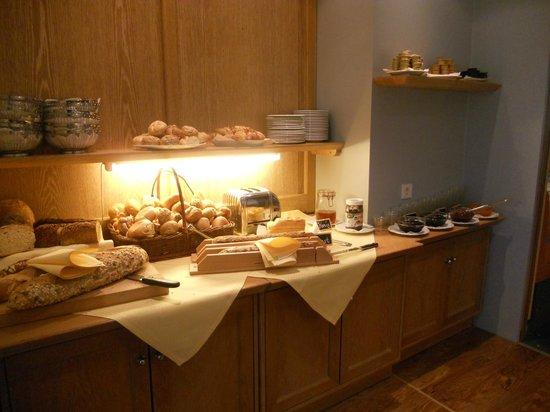 Hotel Rebenhof: La prima colazione
