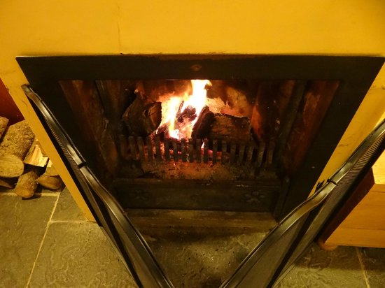 Friars Glen : The peat fire will have you feeling cozy in no time
