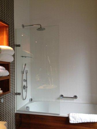 Fraser Suites Edinburgh: shower