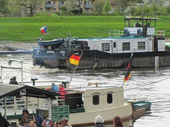 Saxon Switzerland National Park: Busy Elbe