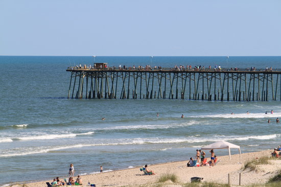 Darlings By The Sea: Kure Beach Peir