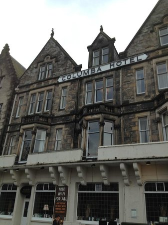 Columba Hotel, Inverness: Front of the hotel