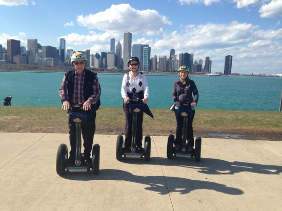 Bike and Roll: The Segway Trio
