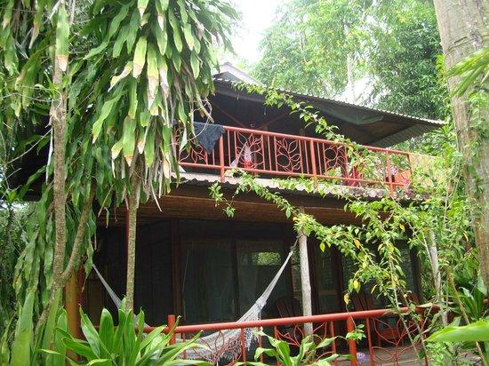 Iguana Lodge: two story casita
