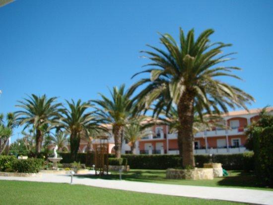 Poseidon Beach Hotel: Widok z pokoju