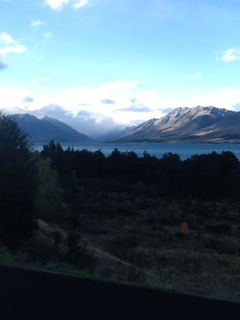 Lake Ohau Lodge: View from deck