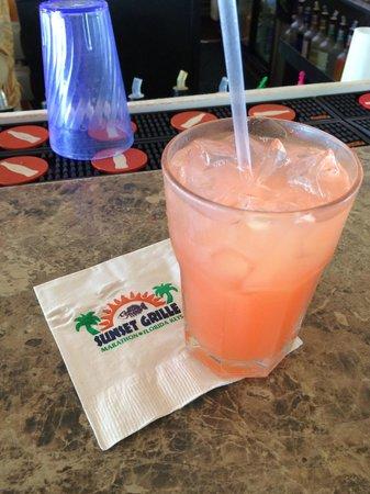 Sunset Grille and Raw Bar : Cruzan 7 Mile Bridge Guava Punch