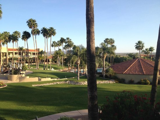 El Conquistador Tucson, a Hilton Resort: View from Building 4