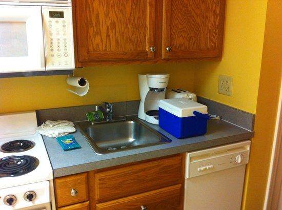 Jade Tree Cove Resort : Sink and dishwasher, if you cook on vacation ;)