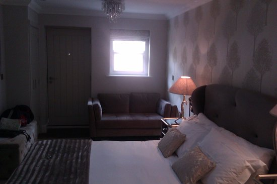 The Rest: our rooftops room - lovely!