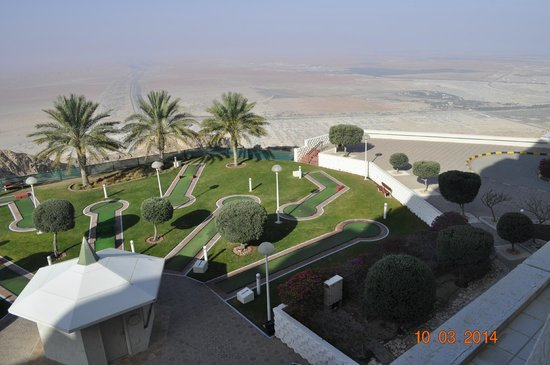 Mercure Grand Jebel Hafeet Al Ain: Widok z pokoju