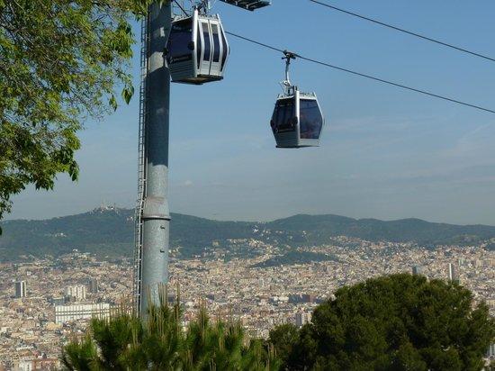 Parque de Montjuic (Parc de Montjuïc): Petit téléphérique