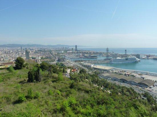 Parque de Montjuic (Parc de Montjuïc): Vue du port