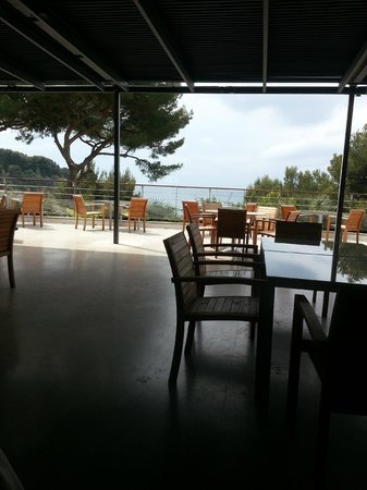 La Villa Madie: terrasse