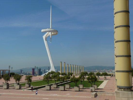 Parque de Montjuic (Parc de Montjuïc): Tour Calatrava