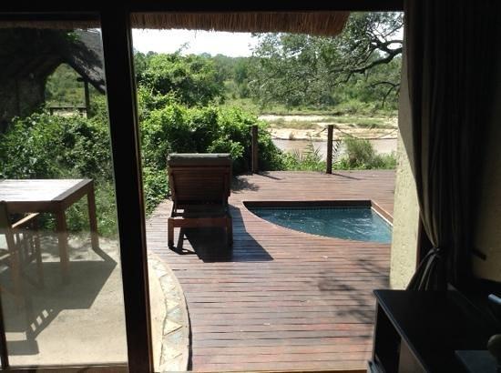 Jock Safari Lodge : our deck