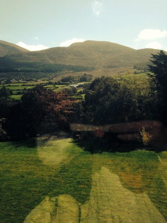 Enniskeen Country House Hotel: View from executive room window
