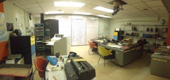 Diefenbunker: Canada's Cold War Museum: bureaux