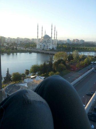 Adana Hilton SA: View from the hotel