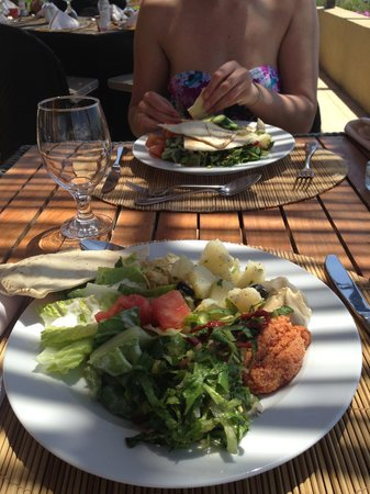 O Beach: lunch