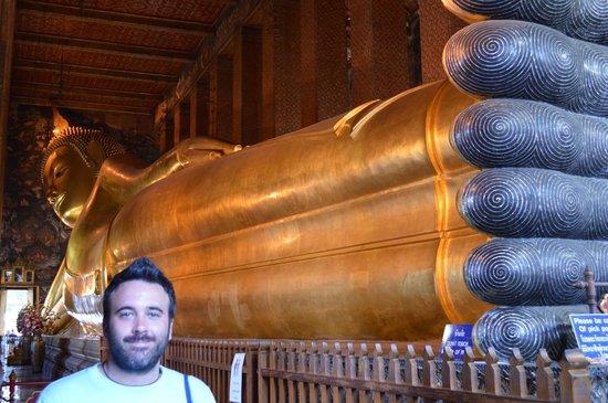 Temple du Bouddha Couché (Wat Pho) : Buda tumbado de 50 metros