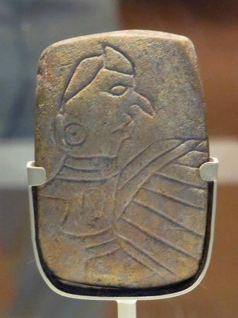 "Cahokia Mounds State Historic Site : ""Birdman"" Tablet"