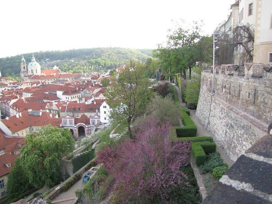 Hradschin (Burgstadt/Hradčany): The gardens below the castle