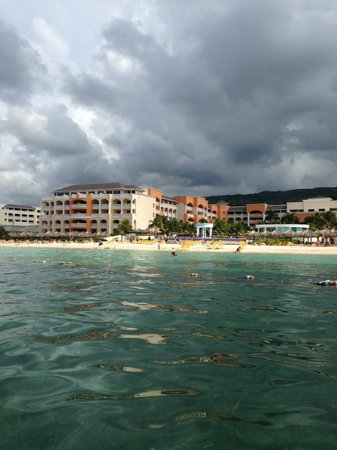 Iberostar Rose Hall Suites: View from the water.