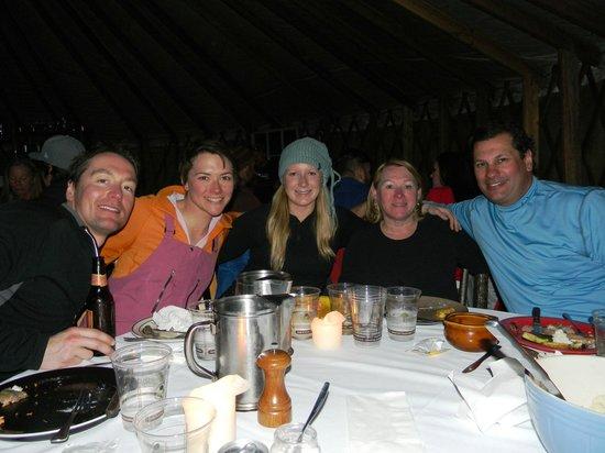 Shedhorn Grill: Inside got a little warm but good times!