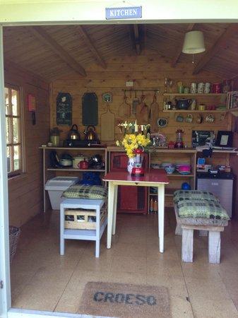 Cwtch Camp: Kitchen