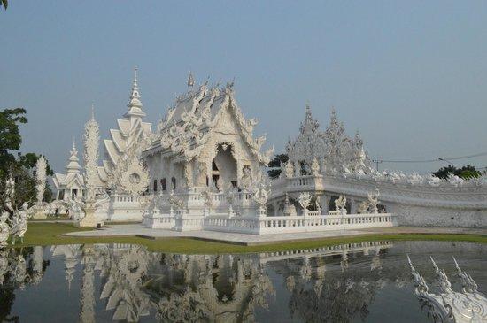 Wat Rong Khun: Templo Blanco - Panoramica