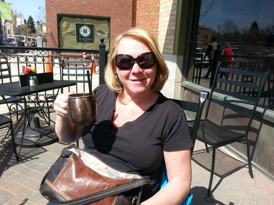 Bacchus Pub: Cheers, to The Moscow Mule and to Bozeman, Montana!