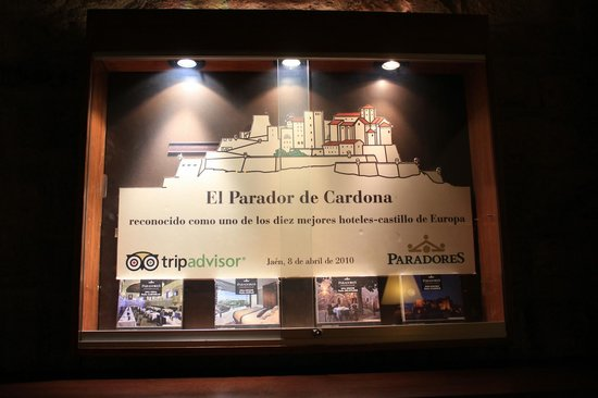 Parador de Cardona: TripAdvisor en el mejor lugar