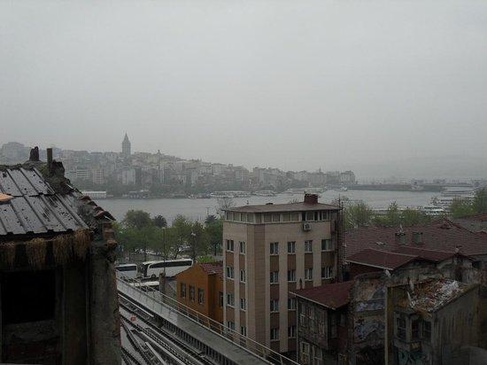 Hayriye Hanim Konagi Hotel: terrace view