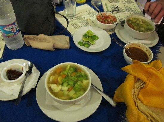 La Chata: Tlapeno Soup